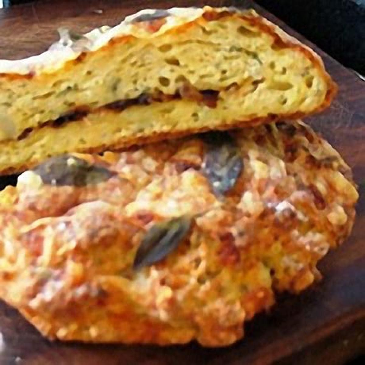 A picture of Delia's Cheese and Potato Bread with Sage and Caramelised Onion recipe