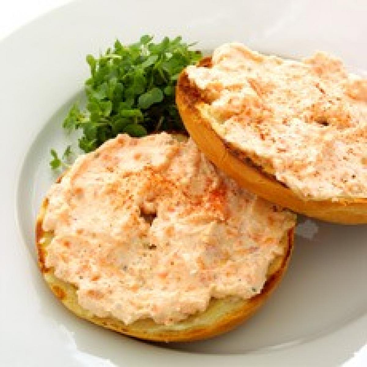 A picture of Delia's Smoked Salmon Pink 'Uns recipe
