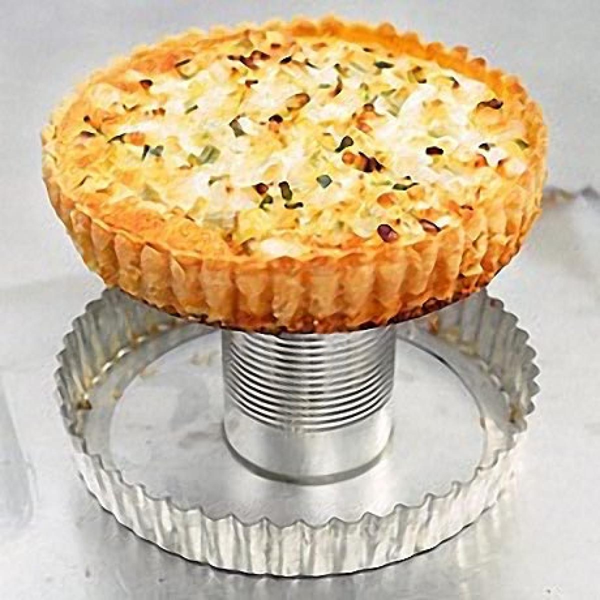 A picture of Delia's Cheese and Vegetable Wholewheat Flan recipe