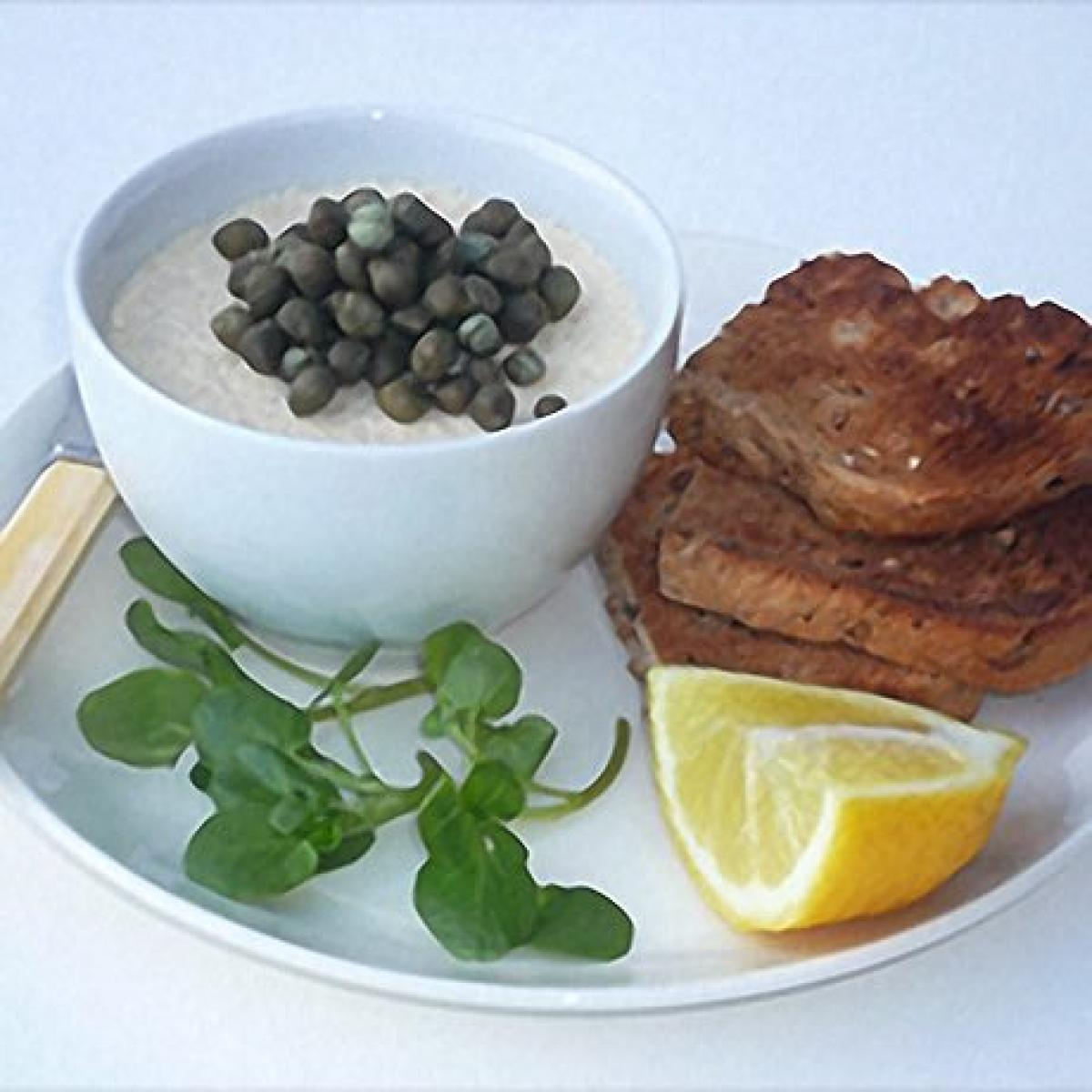 A picture of Delia's Potted Haddie with Capers recipe