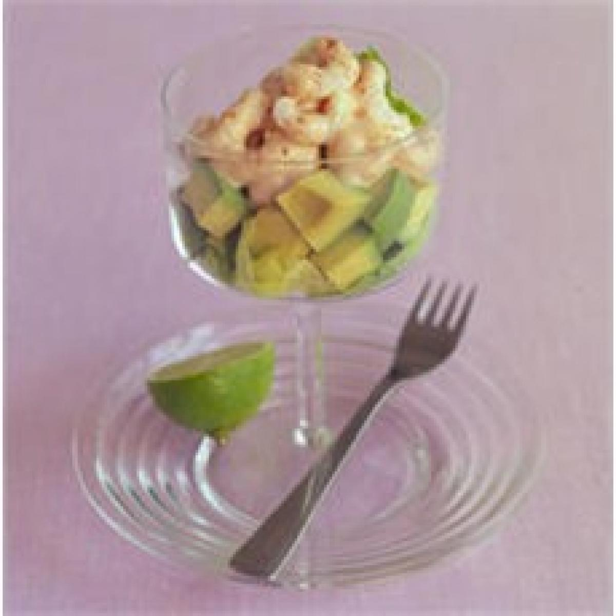A picture of Delia's Prawn Cocktail recipe