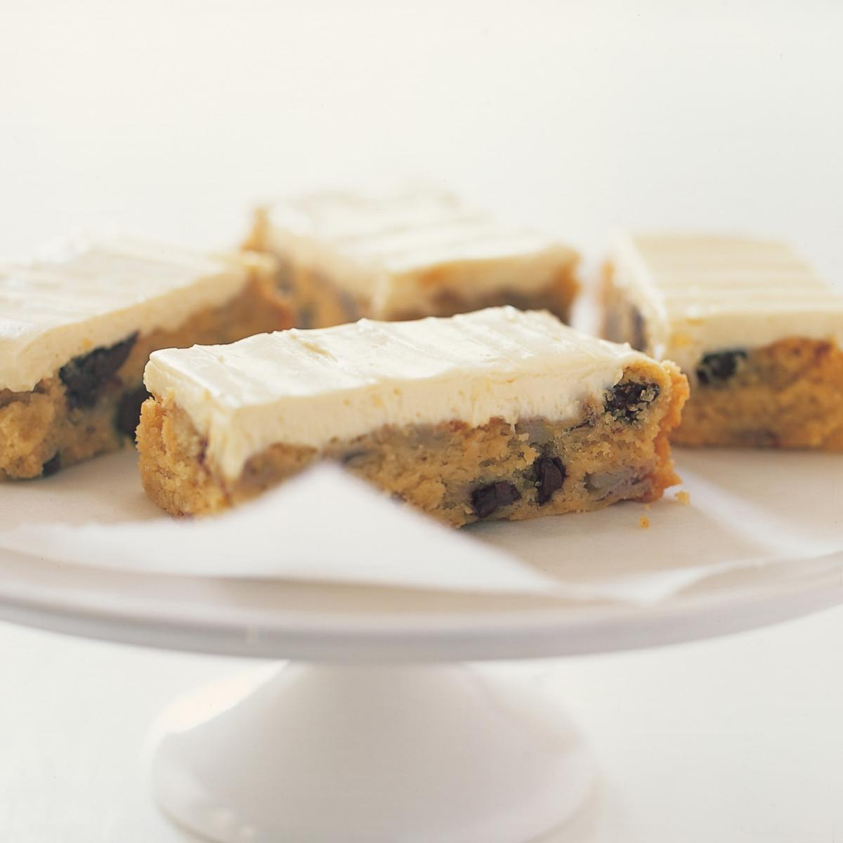 A picture of Delia's Banana and Chocolate Chip Slice recipe