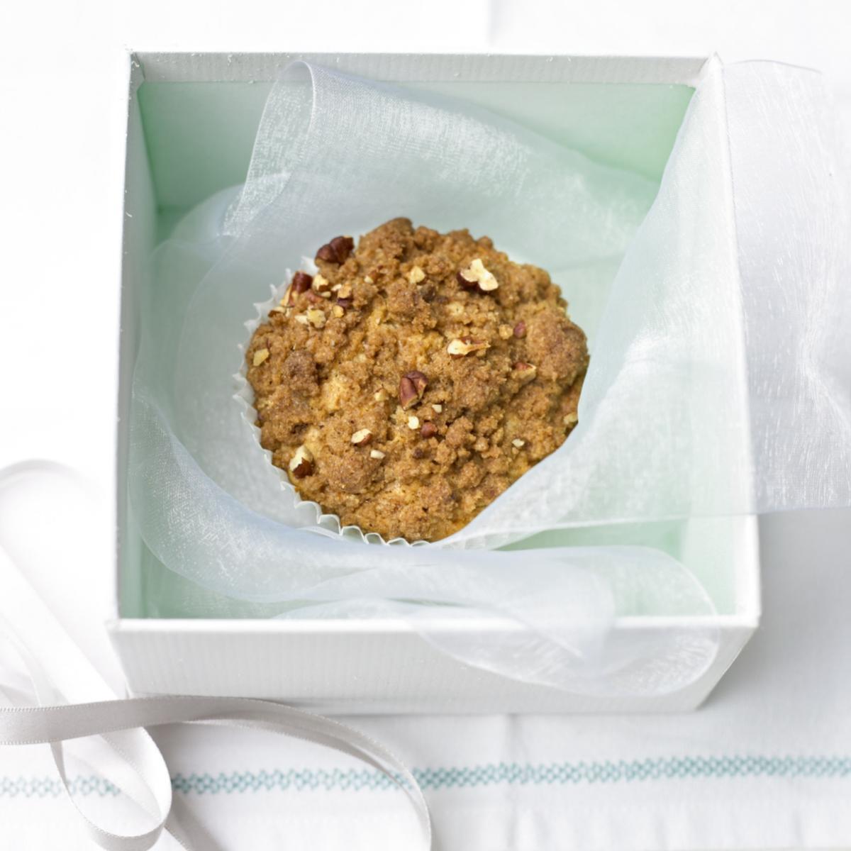 A picture of Delia's Apricot Crumble Muffins recipe
