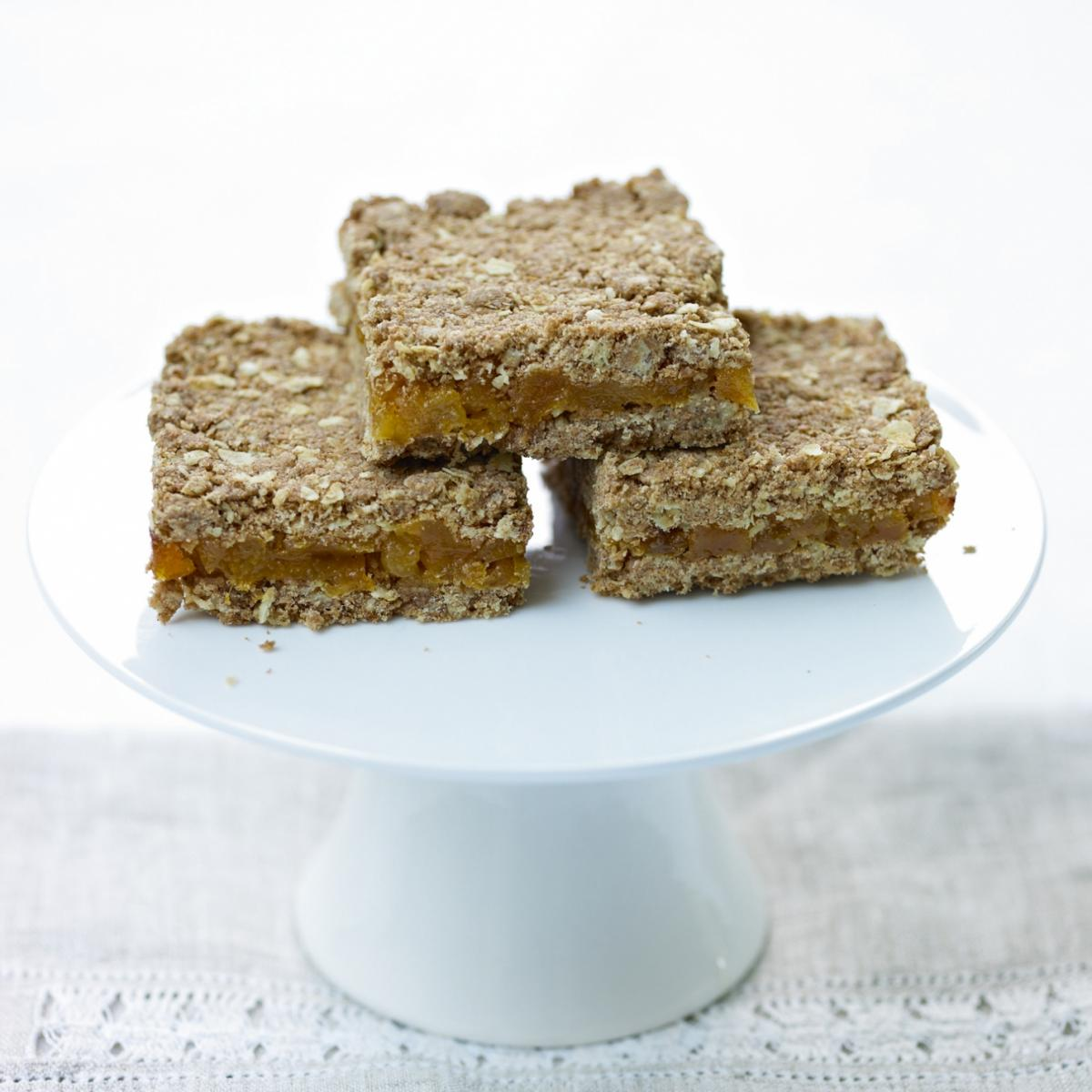 A picture of Delia's Apricot Oat Slices recipe