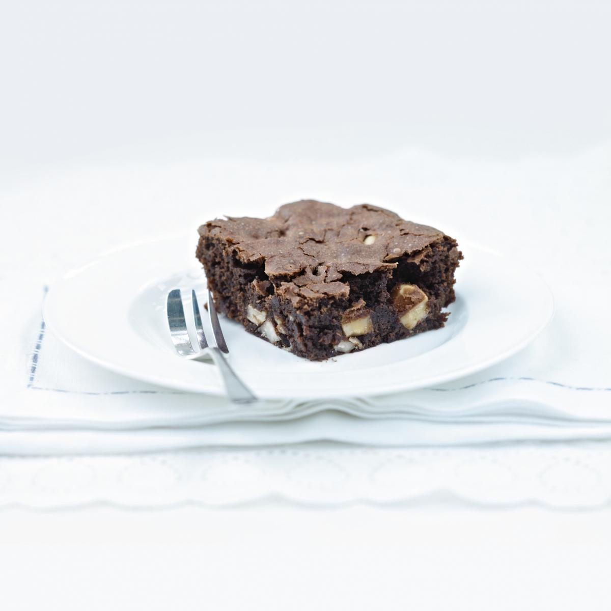 A picture of Delia's Brazil Nut Brownies recipe