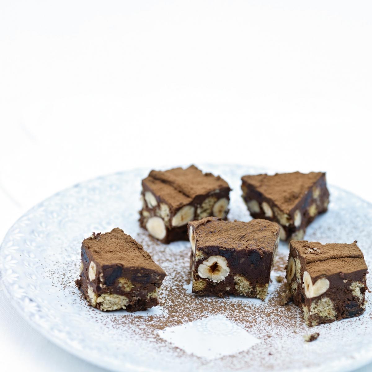 Chocolate Refrigerator Cake Delia