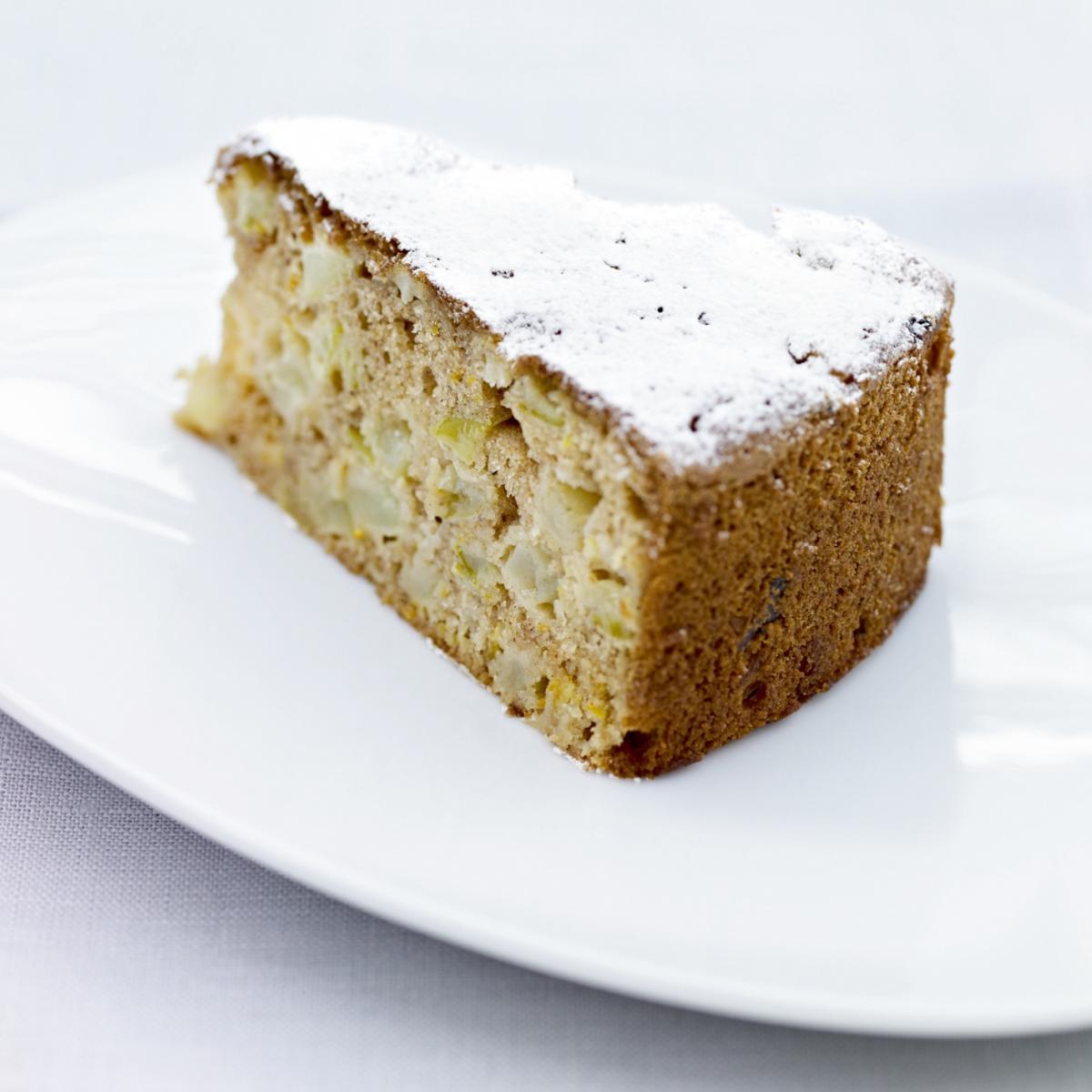 Buttermilk Apple Tea Cake