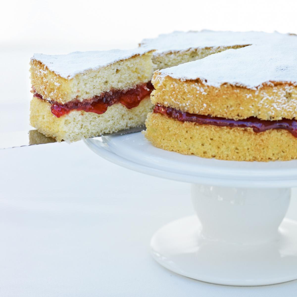 Scaling Up Sponge Cake Recipes