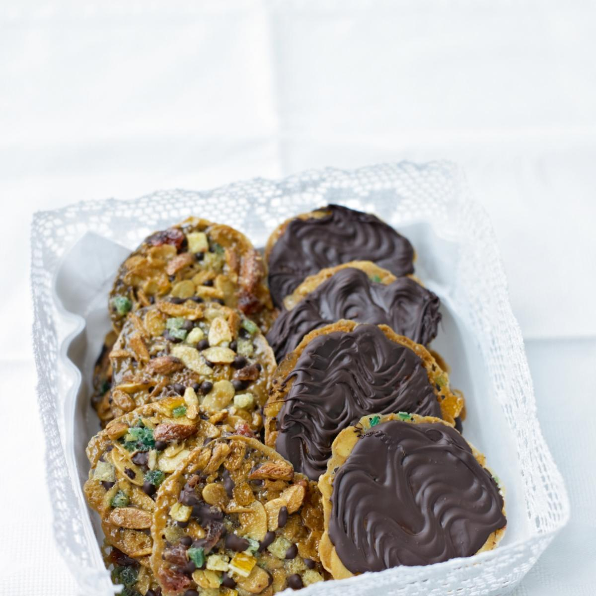 A picture of Delia's Florentines recipe