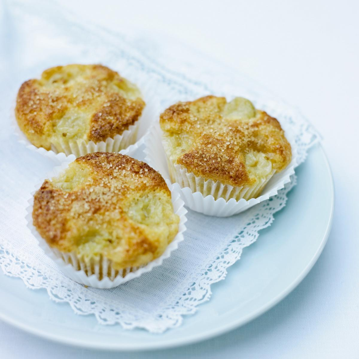 A picture of Delia's Fresh Gooseberry and Elderflower Muffins recipe