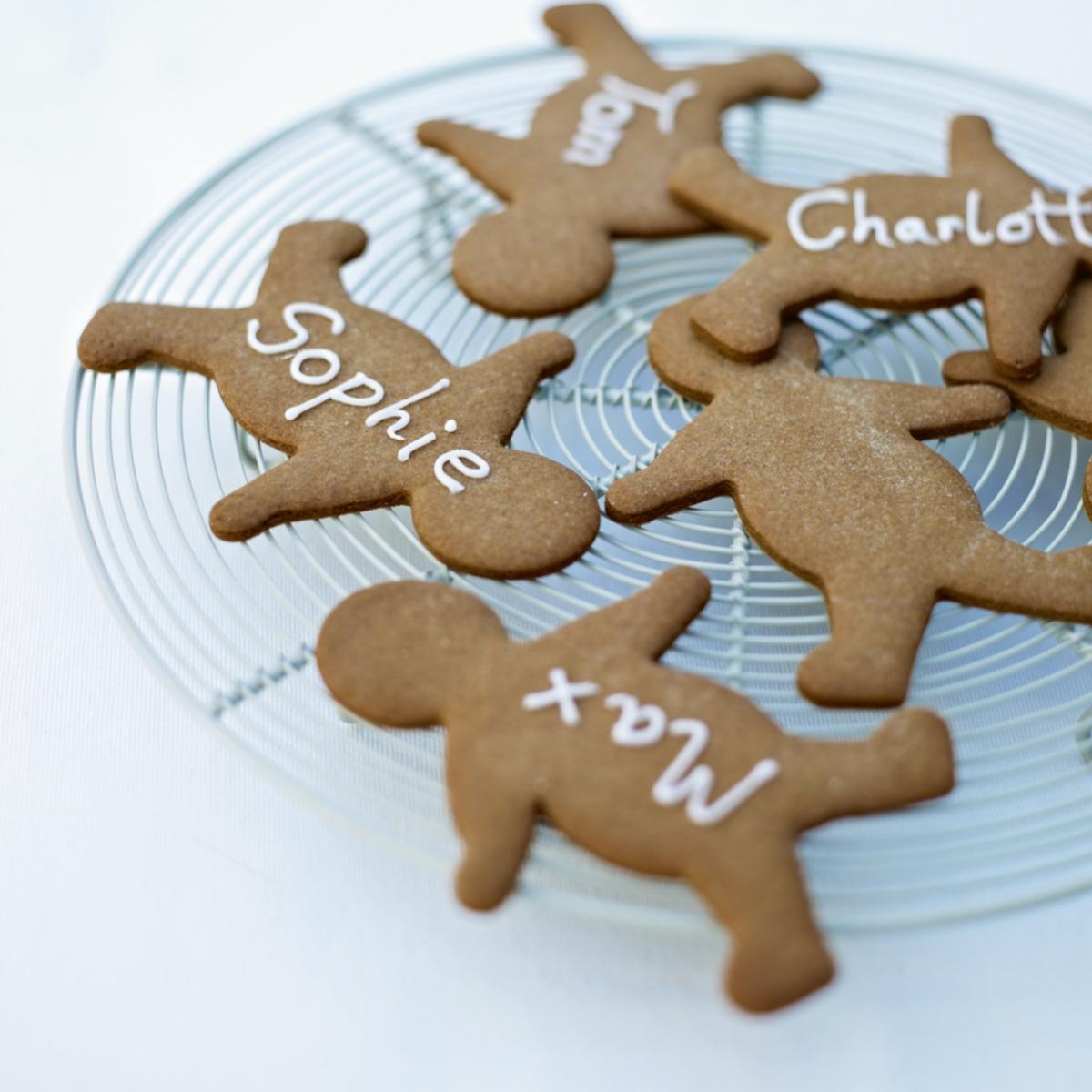 A picture of Delia's Gingerbread Men recipe