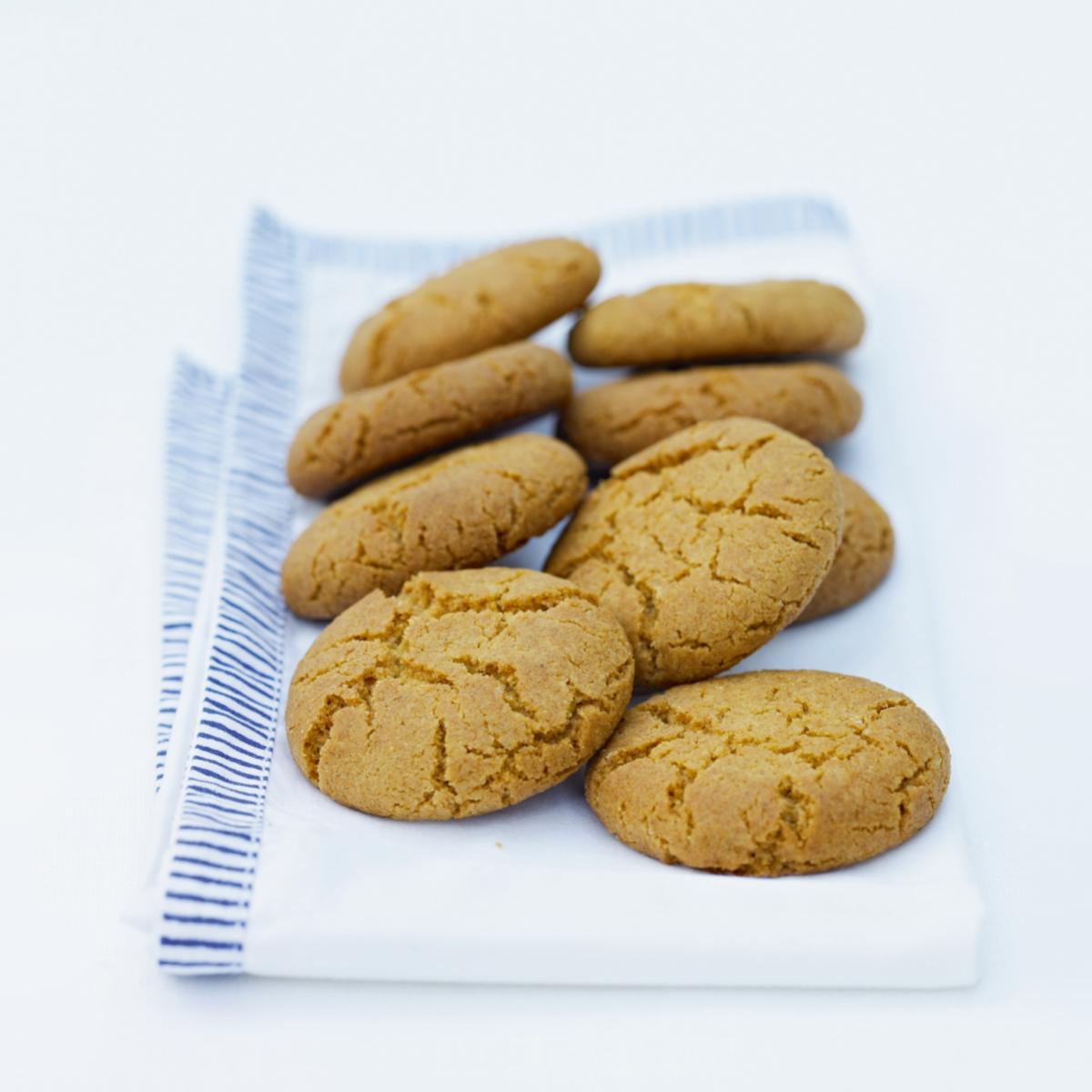A picture of Delia's Gingernuts recipe