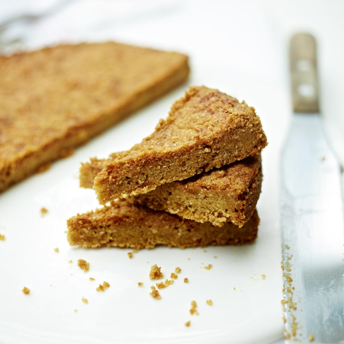 A picture of Delia's All about shortbread how to cook guide