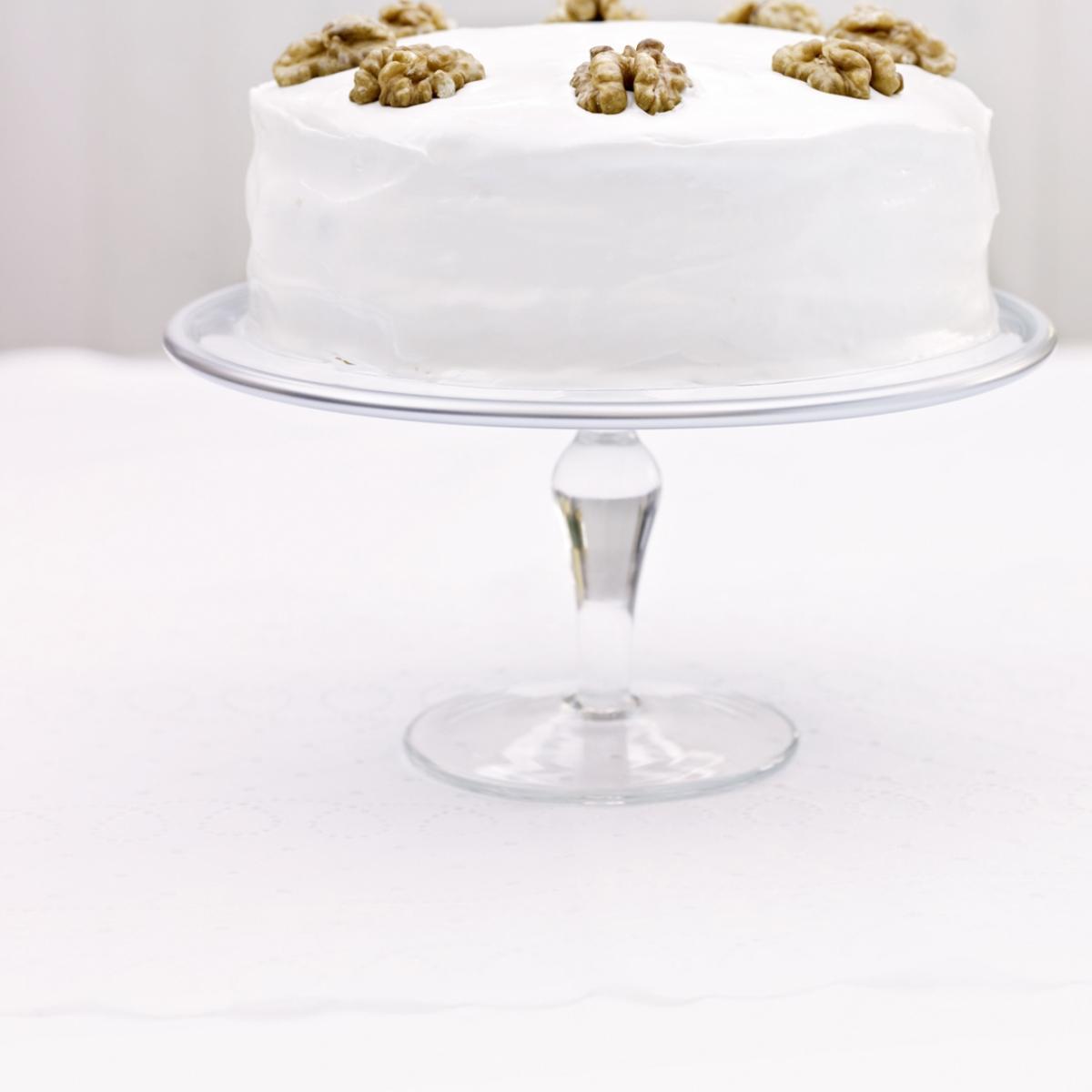 Cakes iced english walnut cake