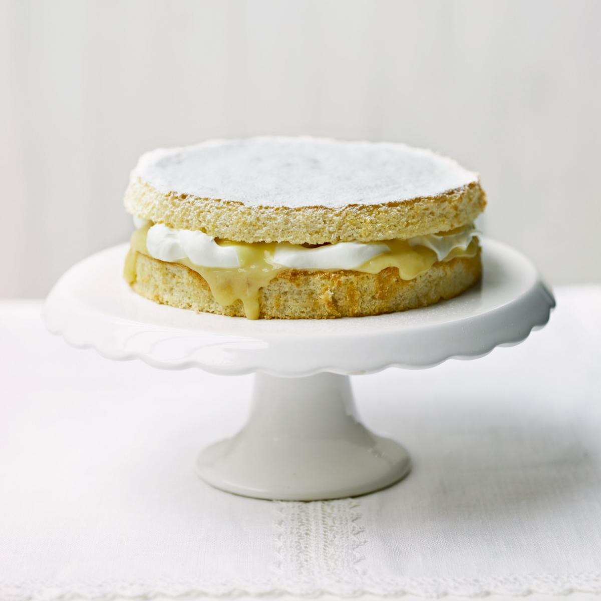A picture of Delia's Lemon Griestorte recipe