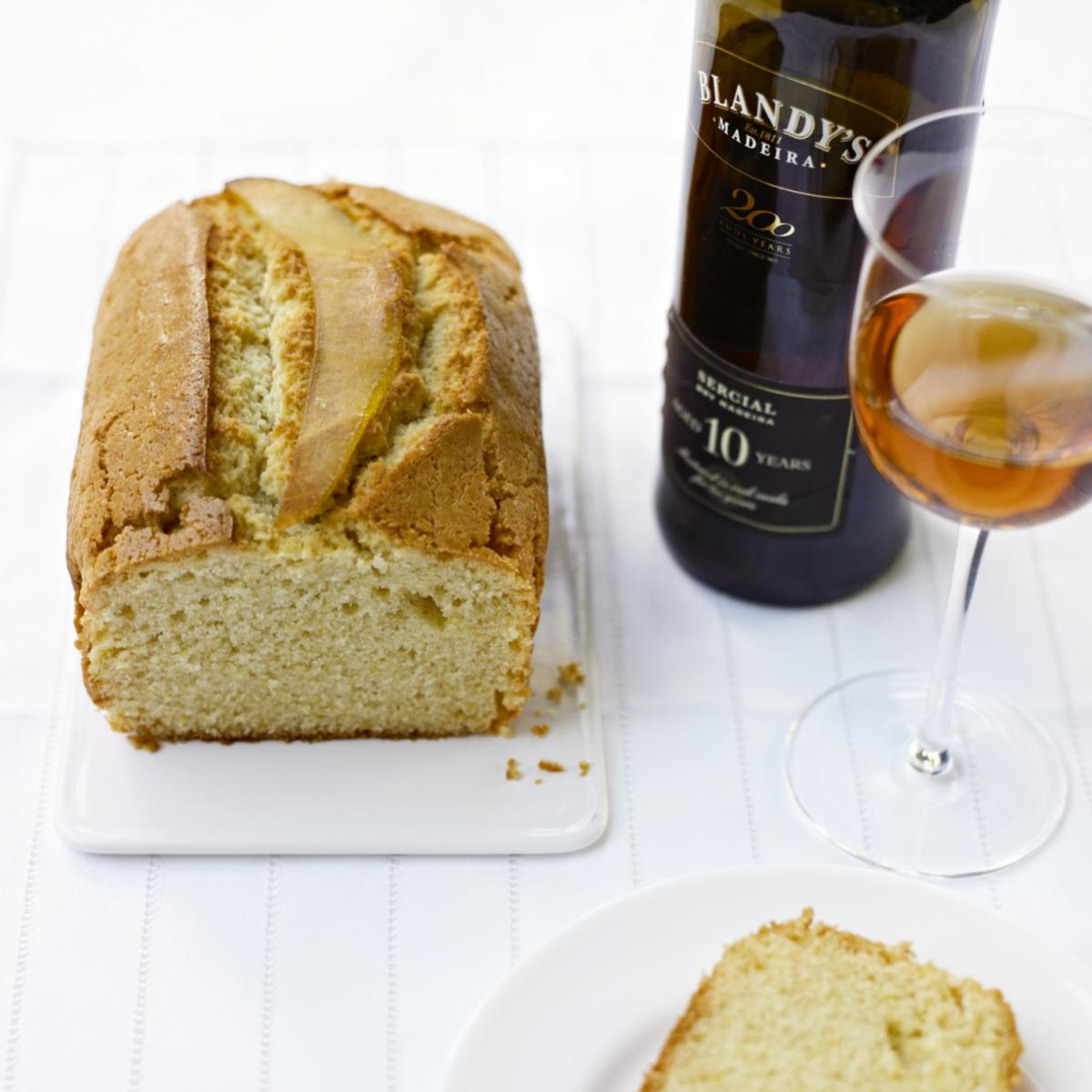 A picture of Delia's Madeira Cake recipe