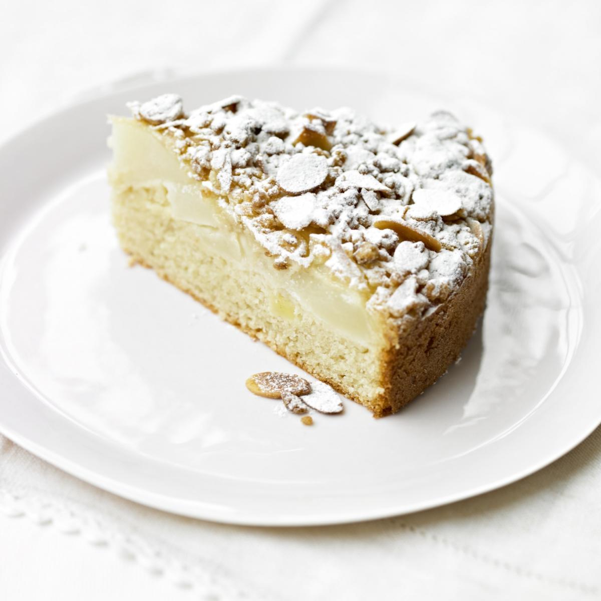 Pear Kuchen Yellow Cake Mix