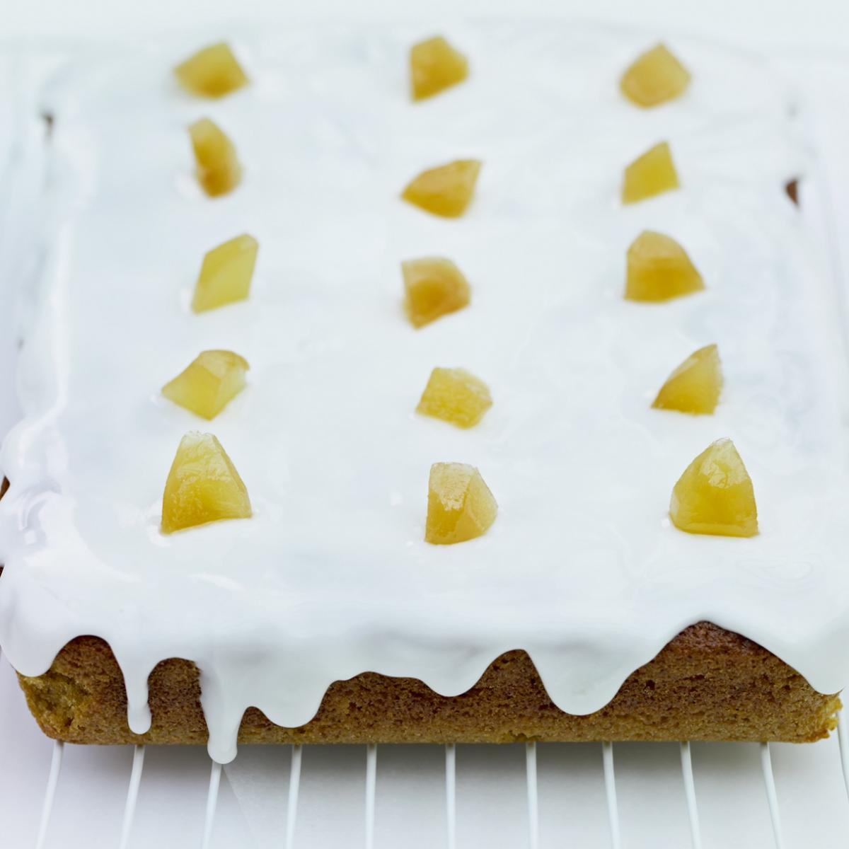A picture of Delia's Preserved Ginger Cake recipe
