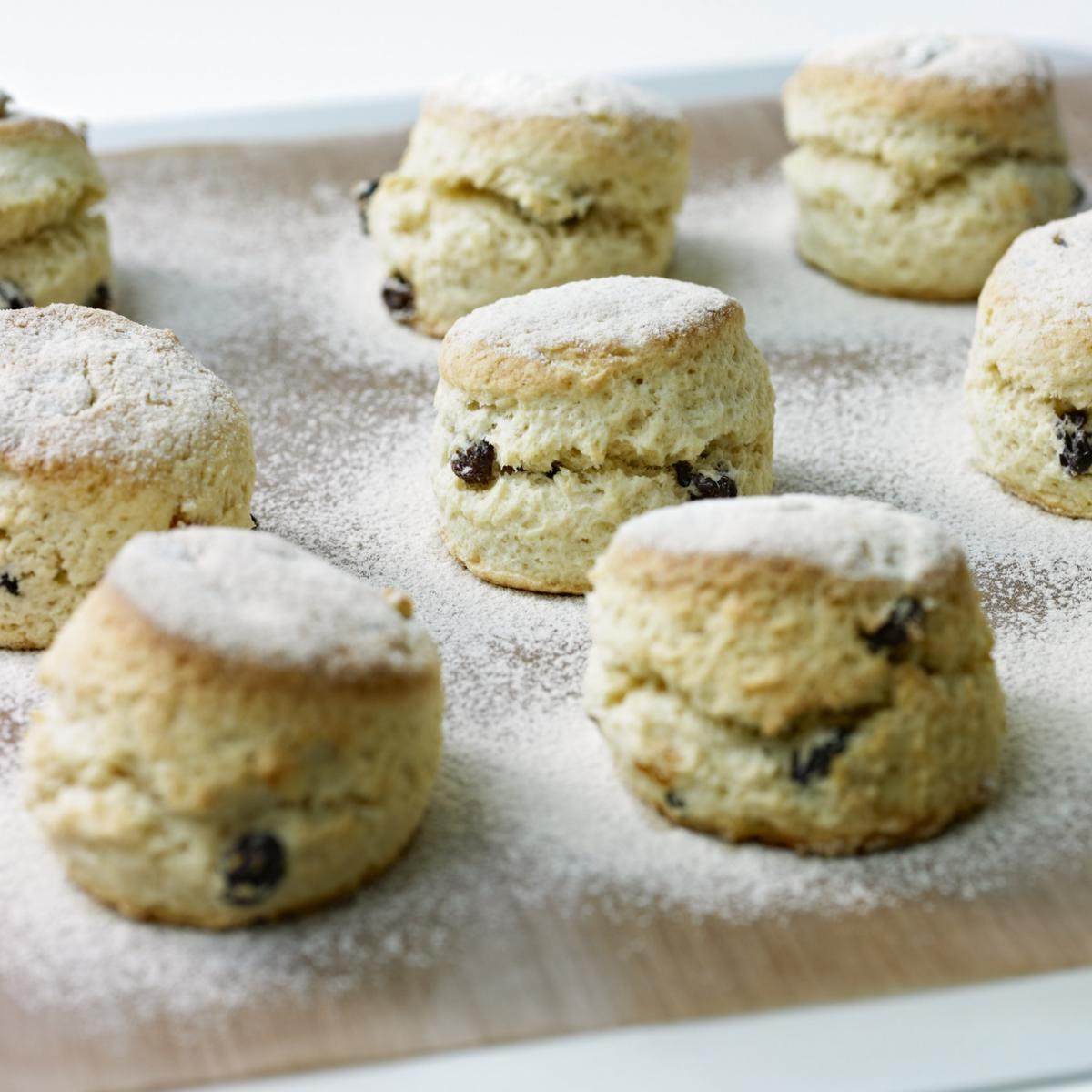 A picture of Delia's Rich Fruit Scones recipe