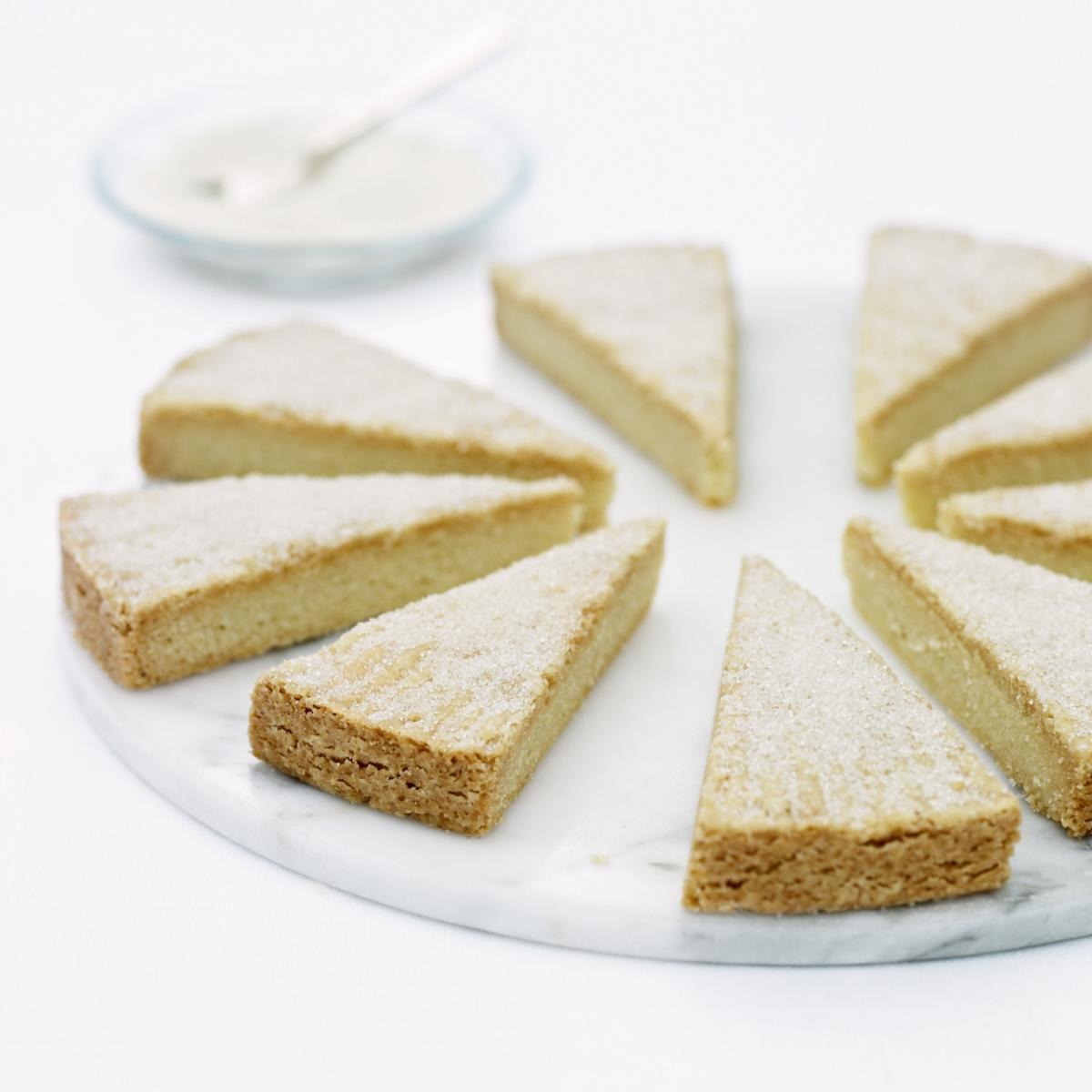 A picture of Delia's Semolina Shortbreads recipe
