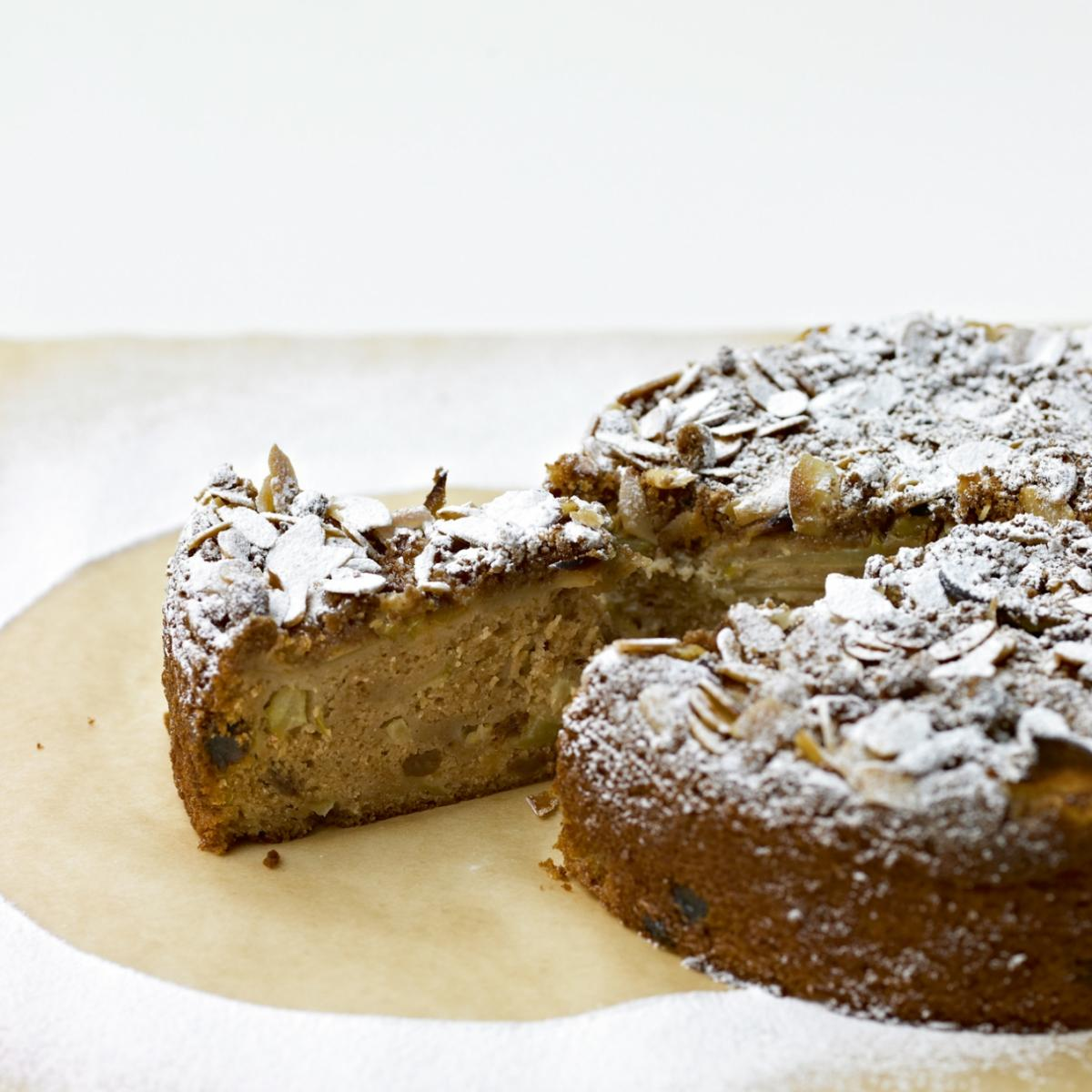 A picture of Delia's Spiced Apple and Cider Cake recipe