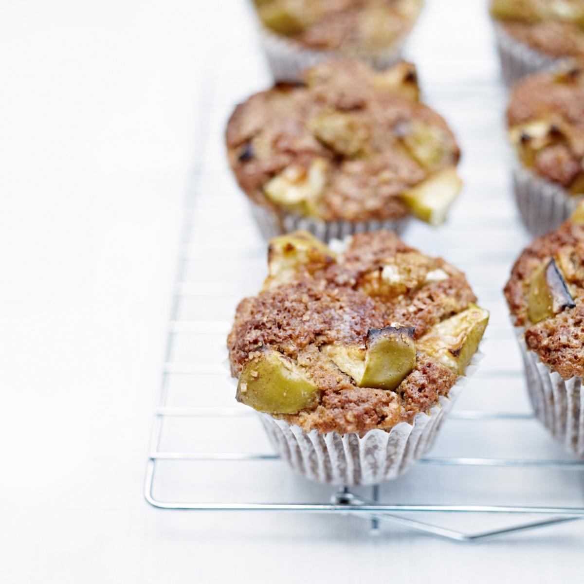 A picture of Delia's Spiced Apple Muffins recipe