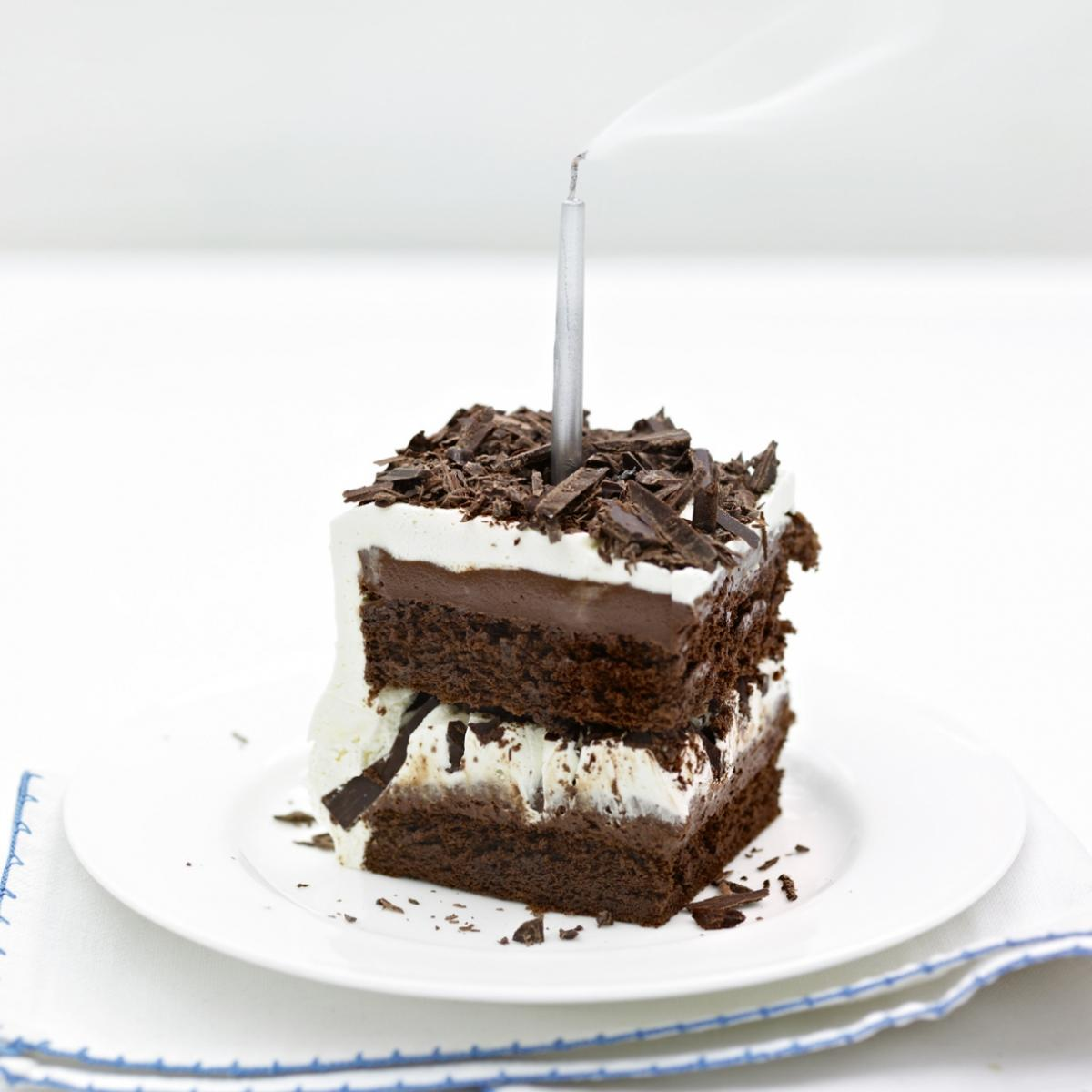 A picture of Delia's Squidgy Chocolate Cake recipe