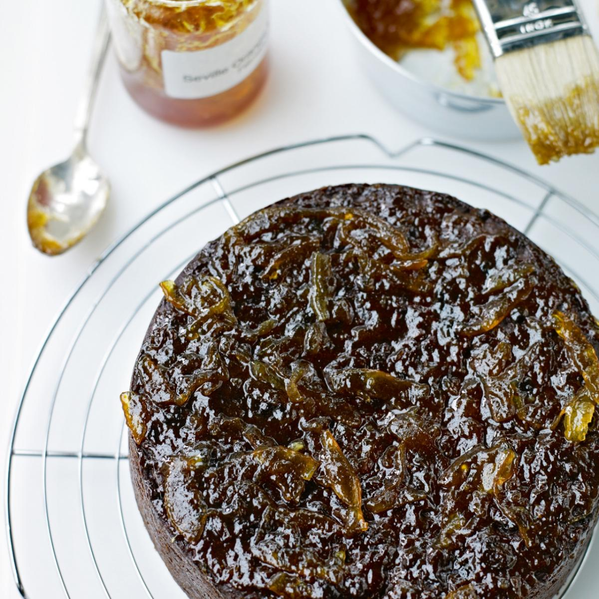 A picture of Delia's Sticky Prune and Date Cake recipe