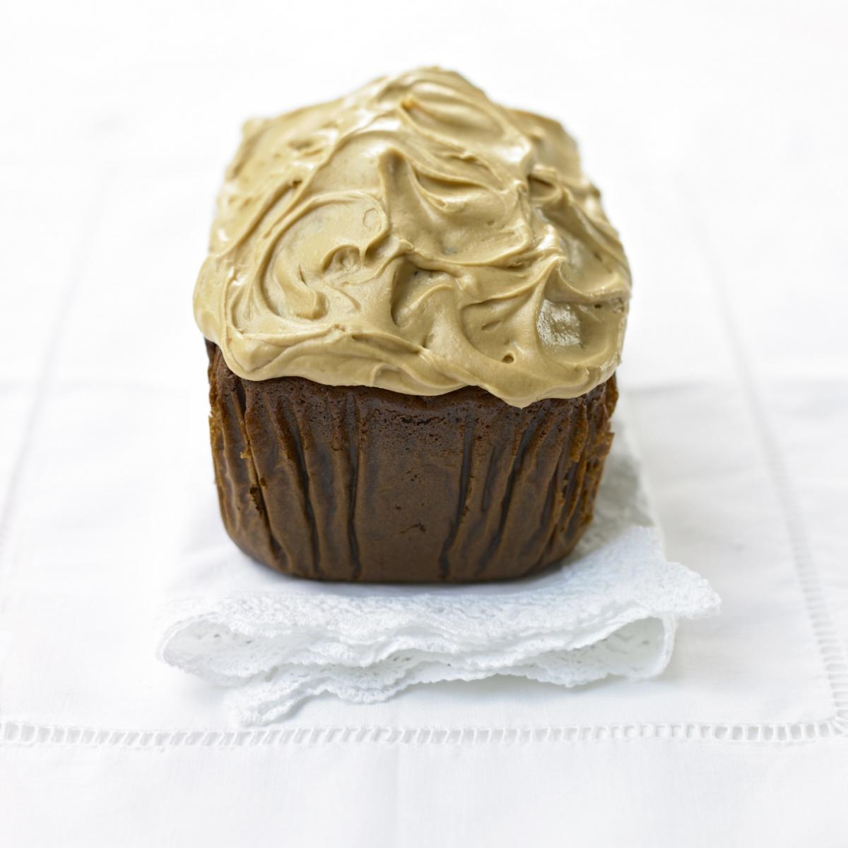 A picture of Delia's Sticky Toffee Loaf Cake with Fudge Icing recipe