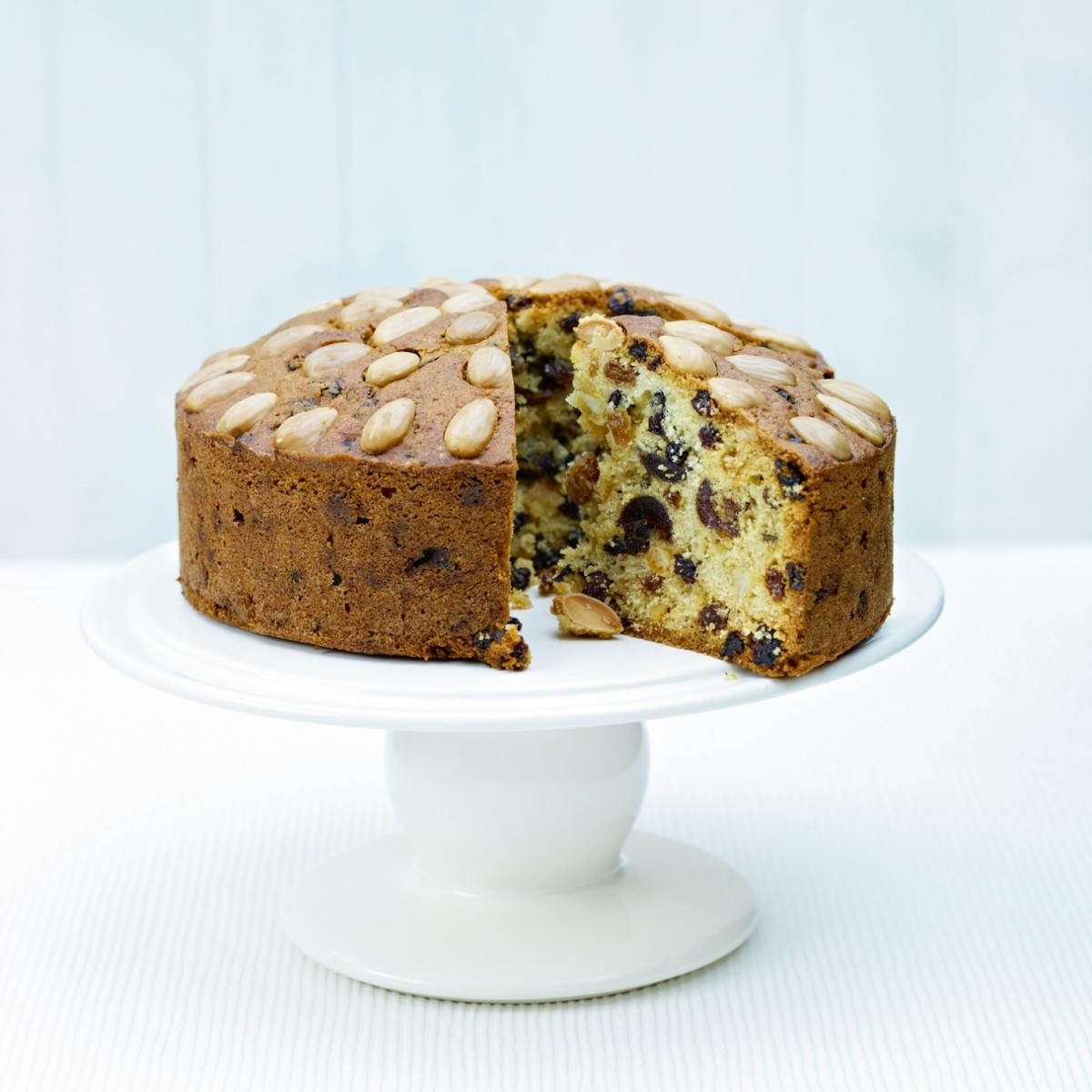 A picture of Delia's Traditional Dundee Cake recipe