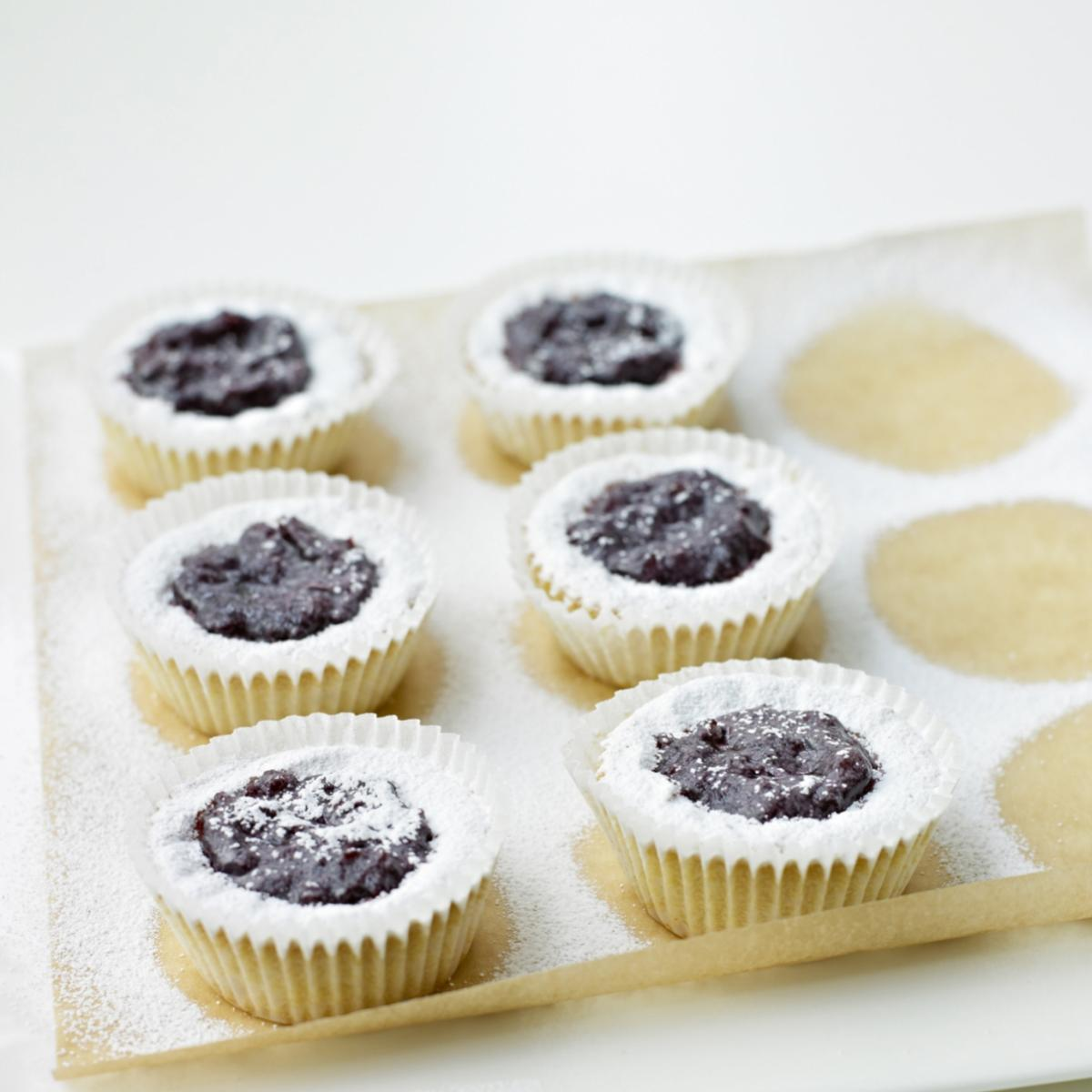 A picture of Delia's Viennese Tartlets recipe