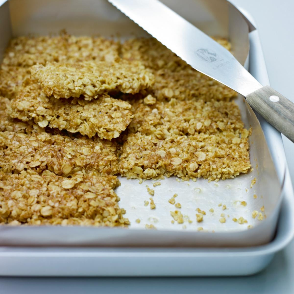 A picture of Delia's Whole Oat Crunchies recipe