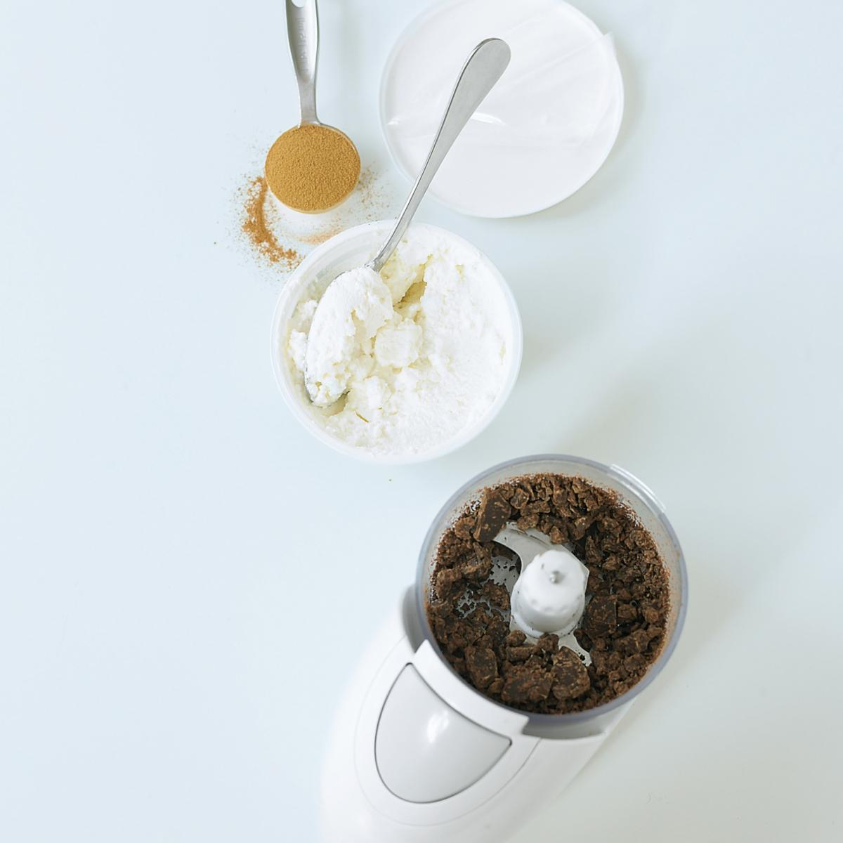 A picture of Delia's Coffee Ricotta Mousse recipe