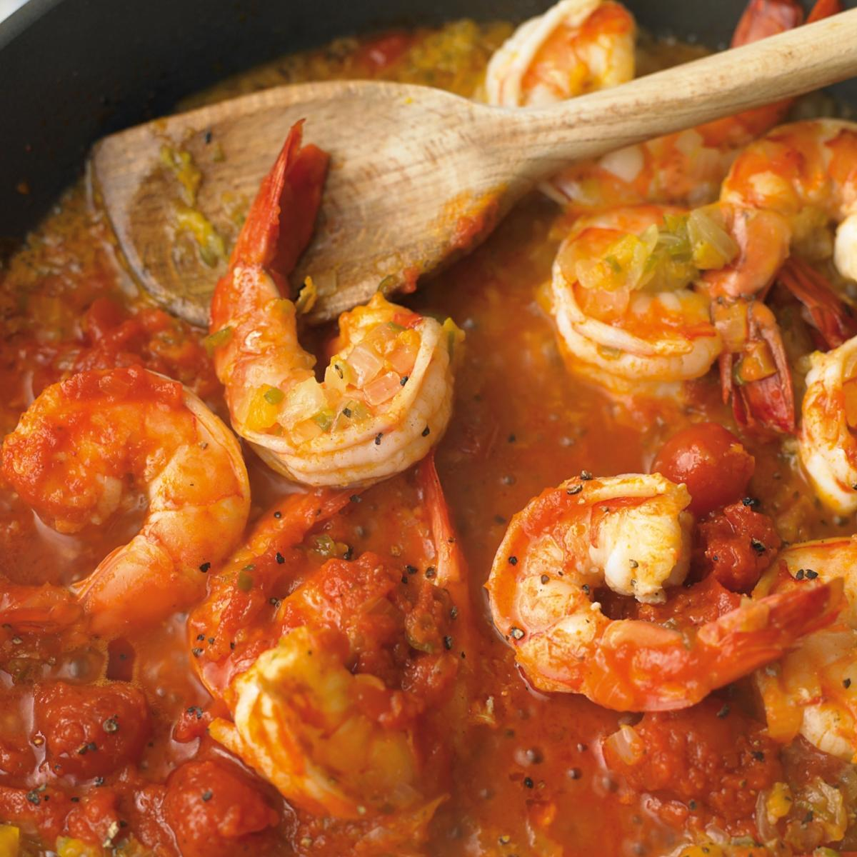 A picture of Delia's Creole Prawns recipe