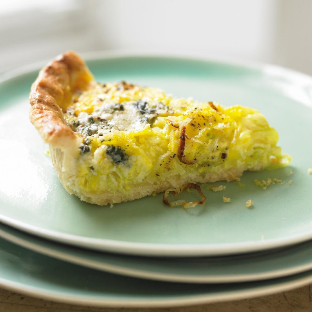 Roquefort and Leek Tart   Recipes   Delia Online