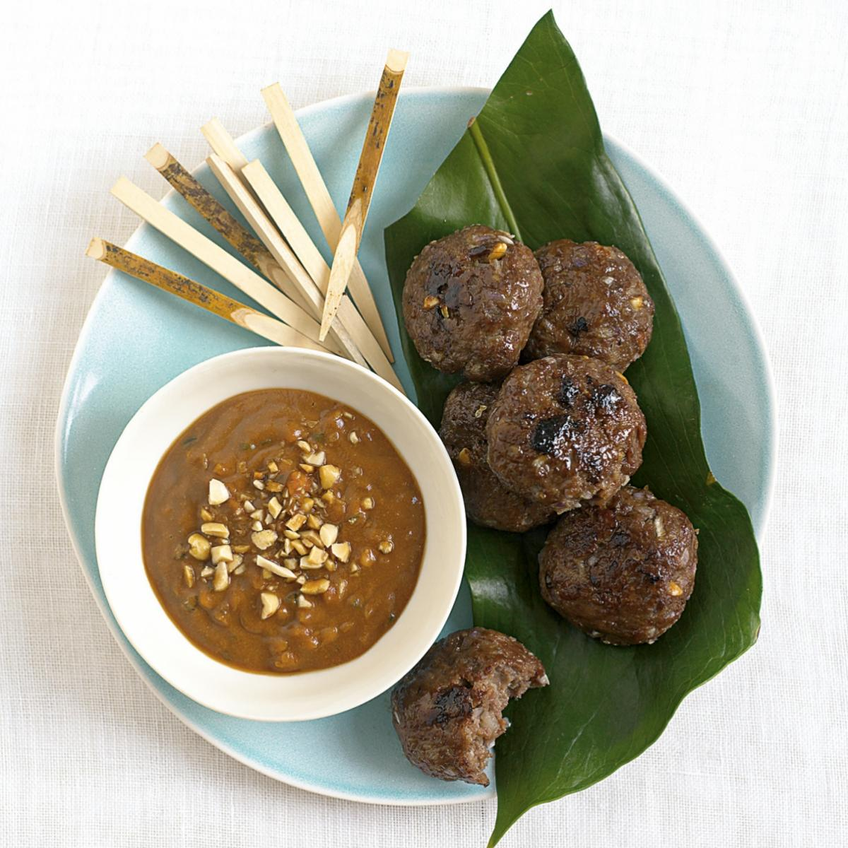 A picture of Delia's Vietnamese Beef Patties recipe