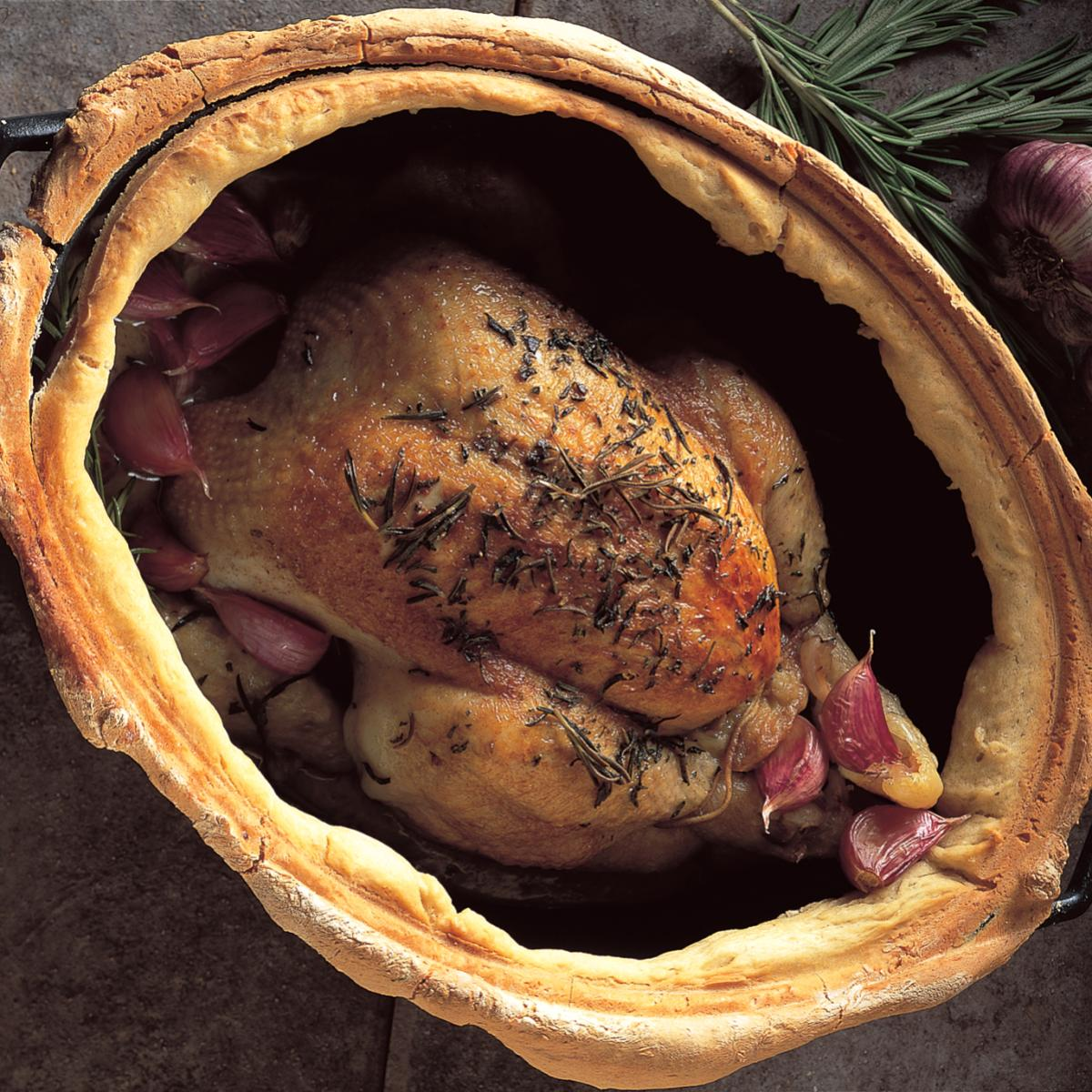 A picture of Delia's Chicken Baked with 30 Cloves of Garlic recipe
