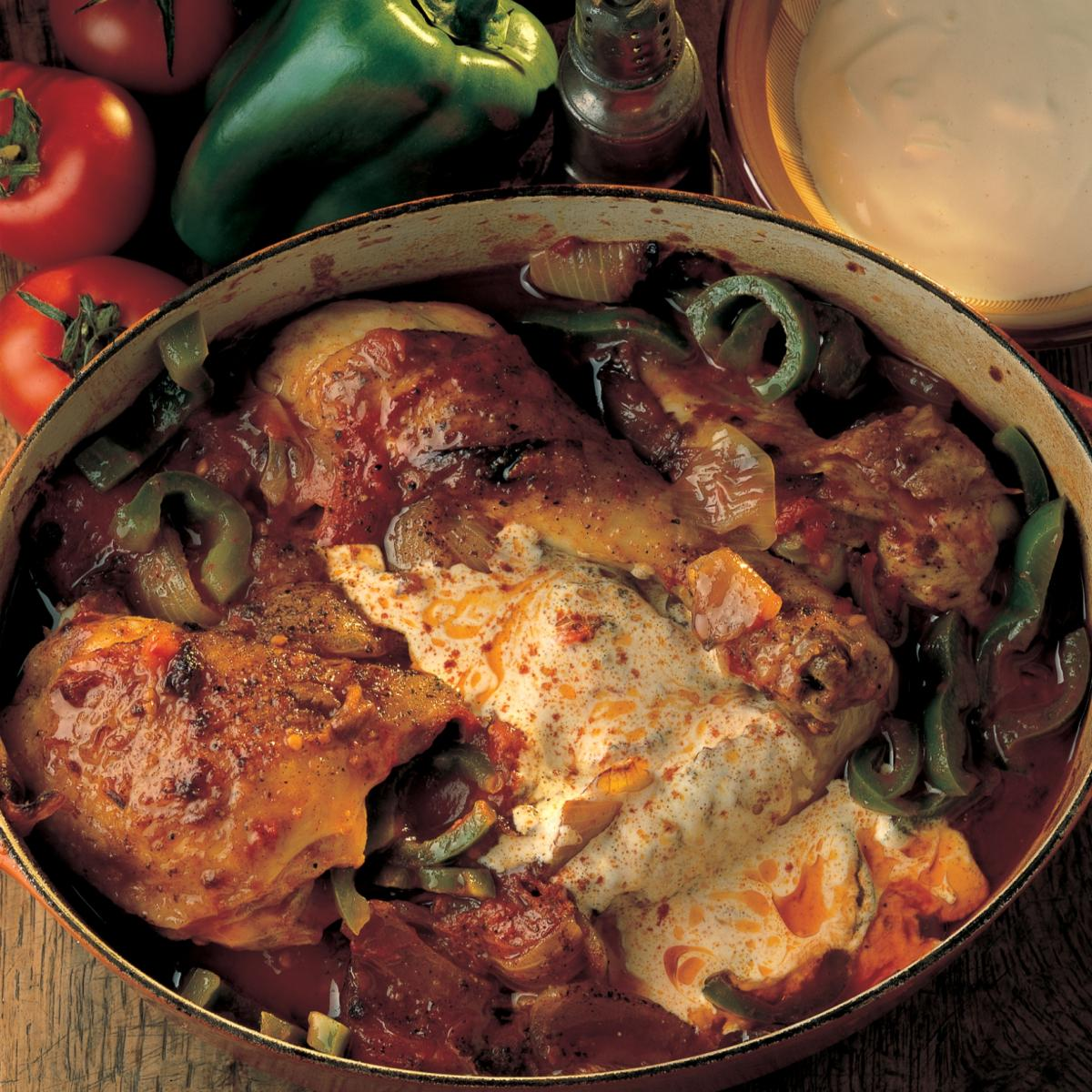 A picture of Delia's Chicken Paprika recipe