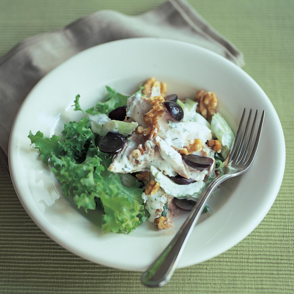Chicken chicken waldorf salad