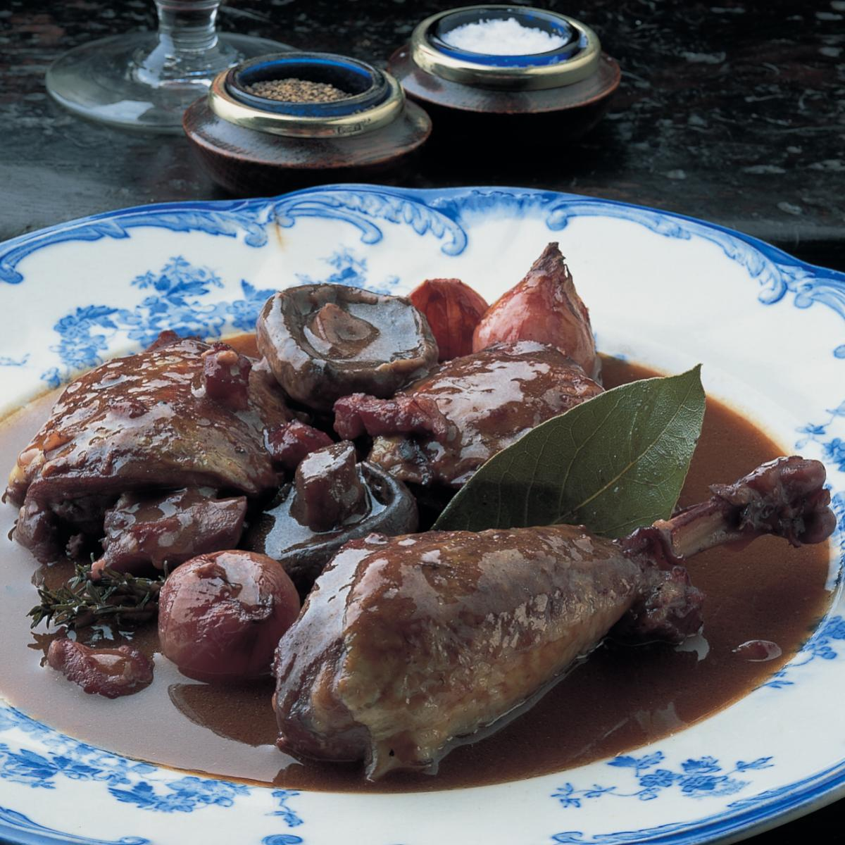 A picture of Delia's Coq au Vin recipe