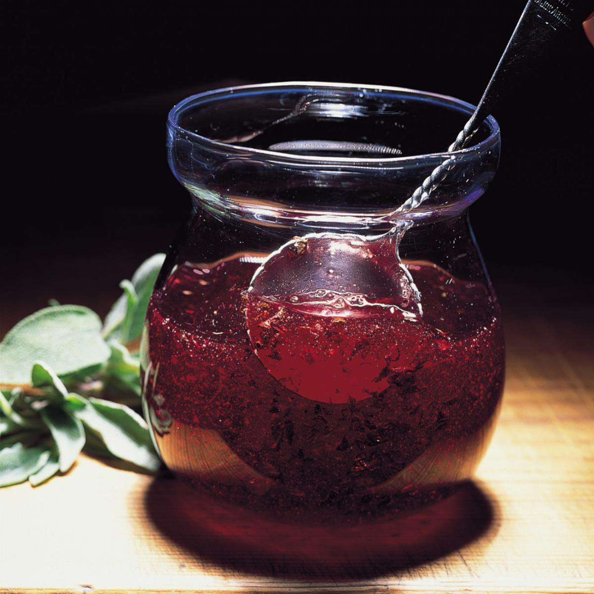 A picture of Delia's Cranberry, Sage and Balsamic Sauce recipe