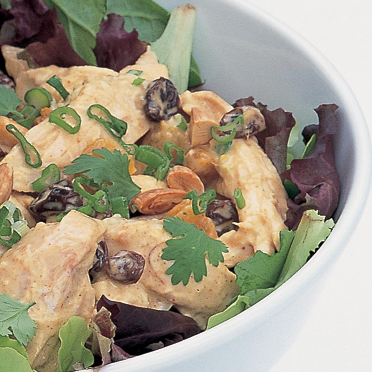 A picture of Delia's Curried Chicken Salad recipe
