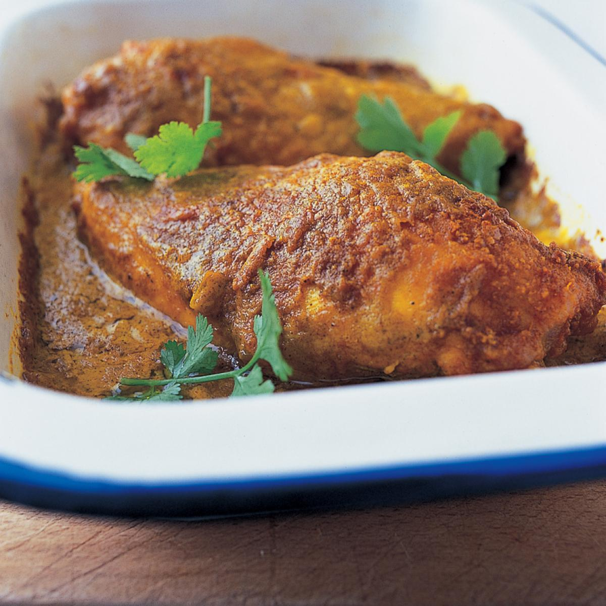 A picture of Delia's Spiced Chicken recipe