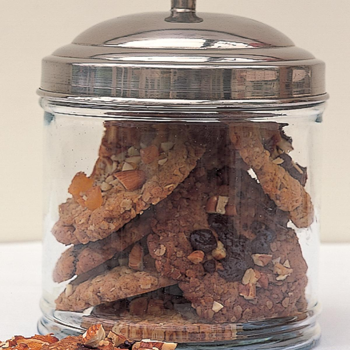 Chocolate chocolate almond crunchies