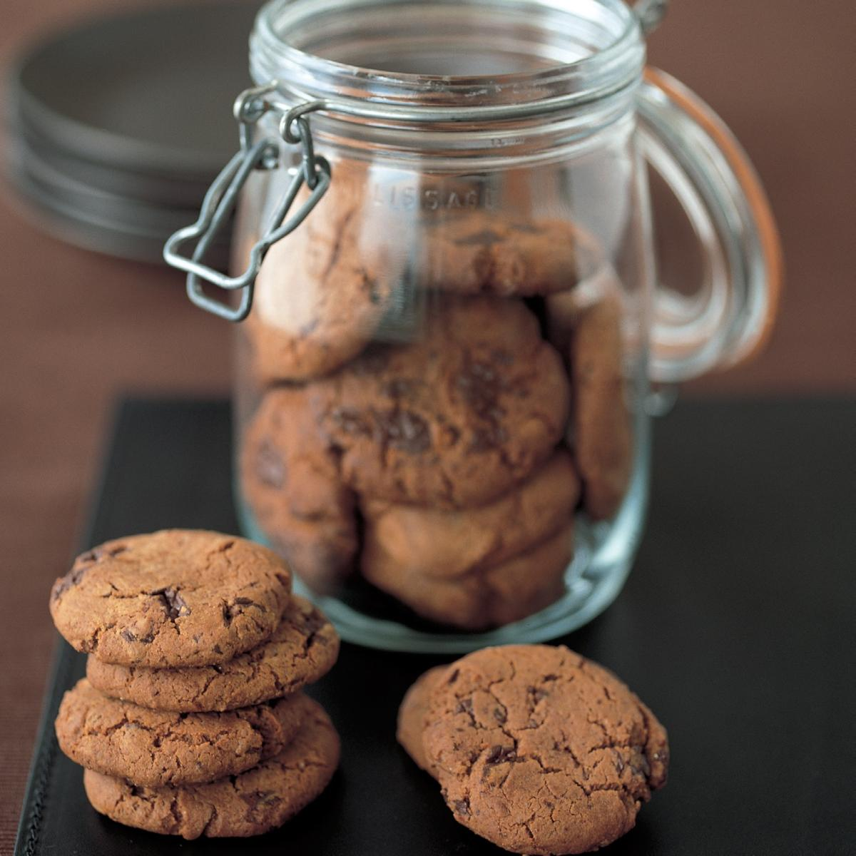 A picture of Delia's Chocolate Chip Ginger Nuts recipe