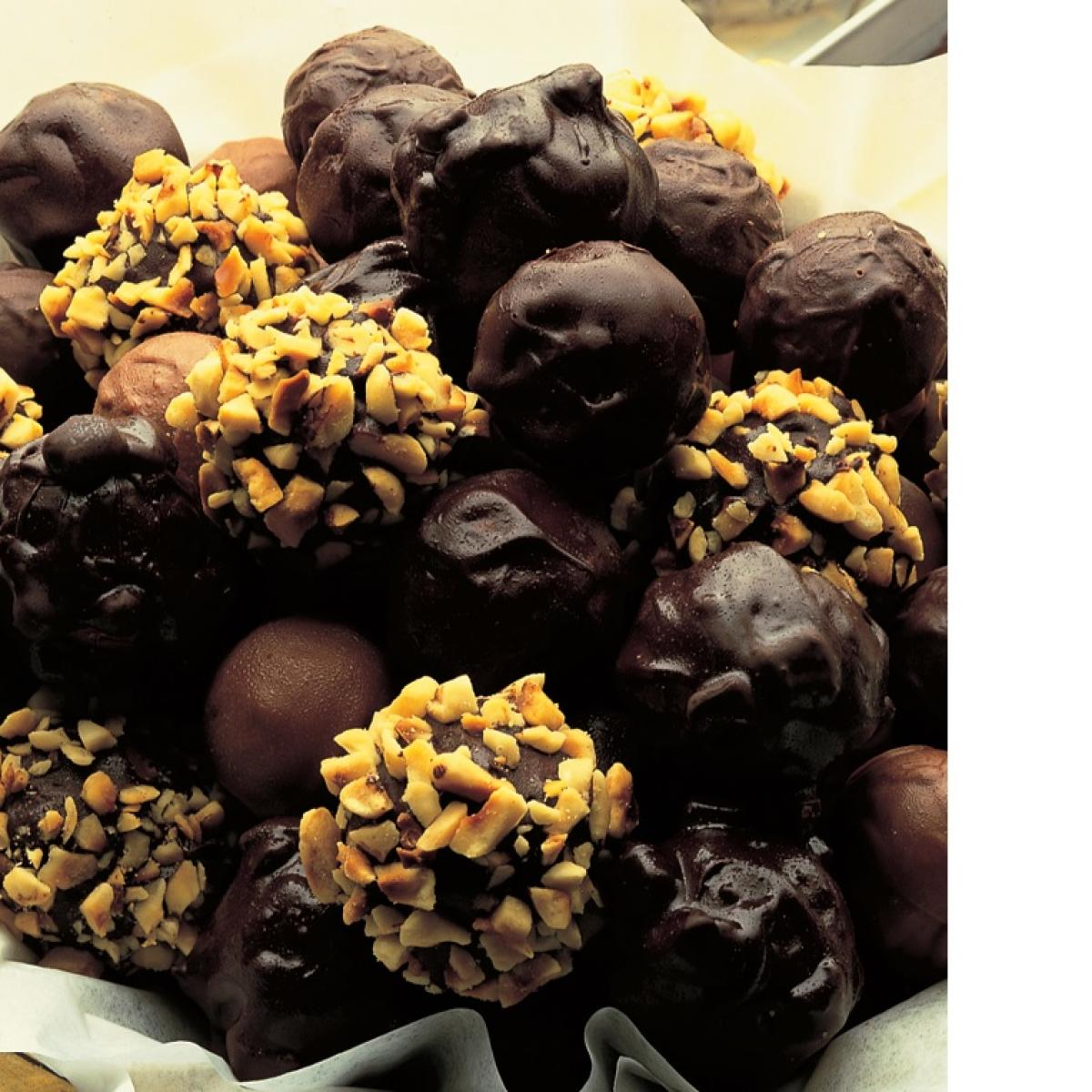 A picture of Delia's Home-made Chocolate Truffles recipe