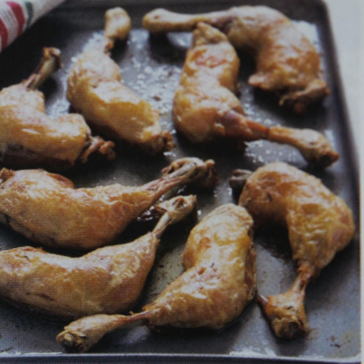 A picture of Delia's Confit of Duck with Port and Sour Cherry Sauce recipe