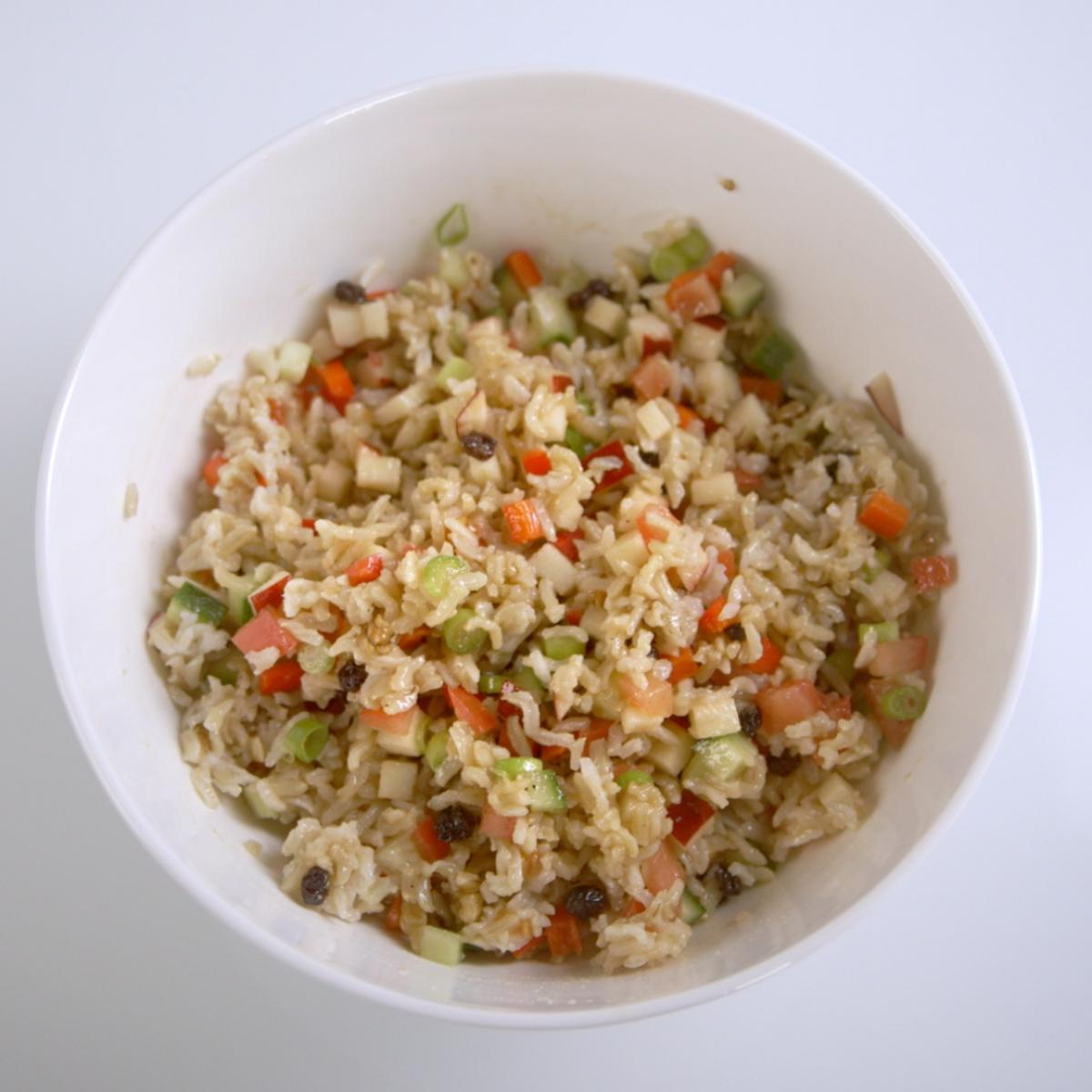 A picture of Delia's Brown Rice Salad recipe