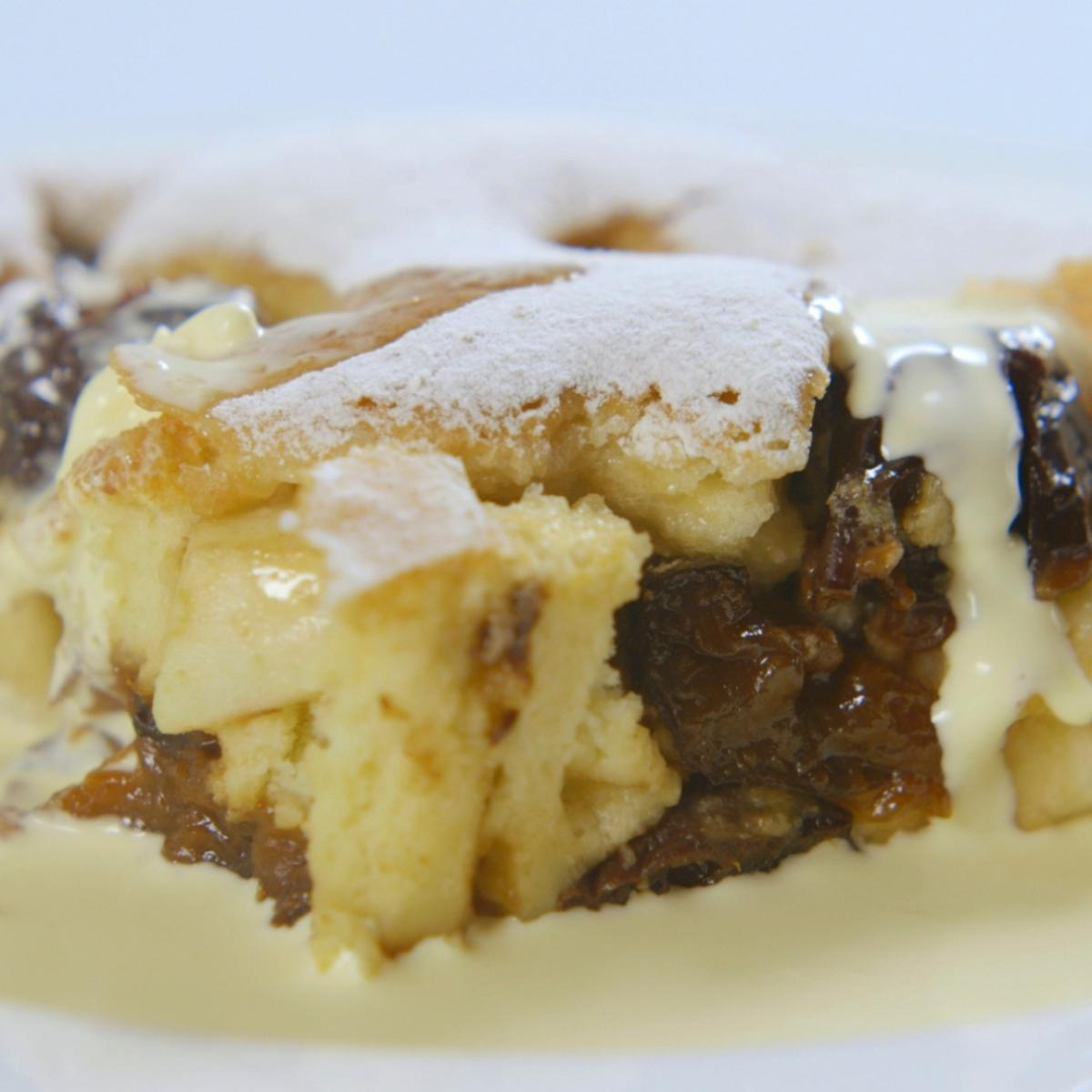 A picture of Delia's Apple, Prune and Armagnac Clafoutis recipe