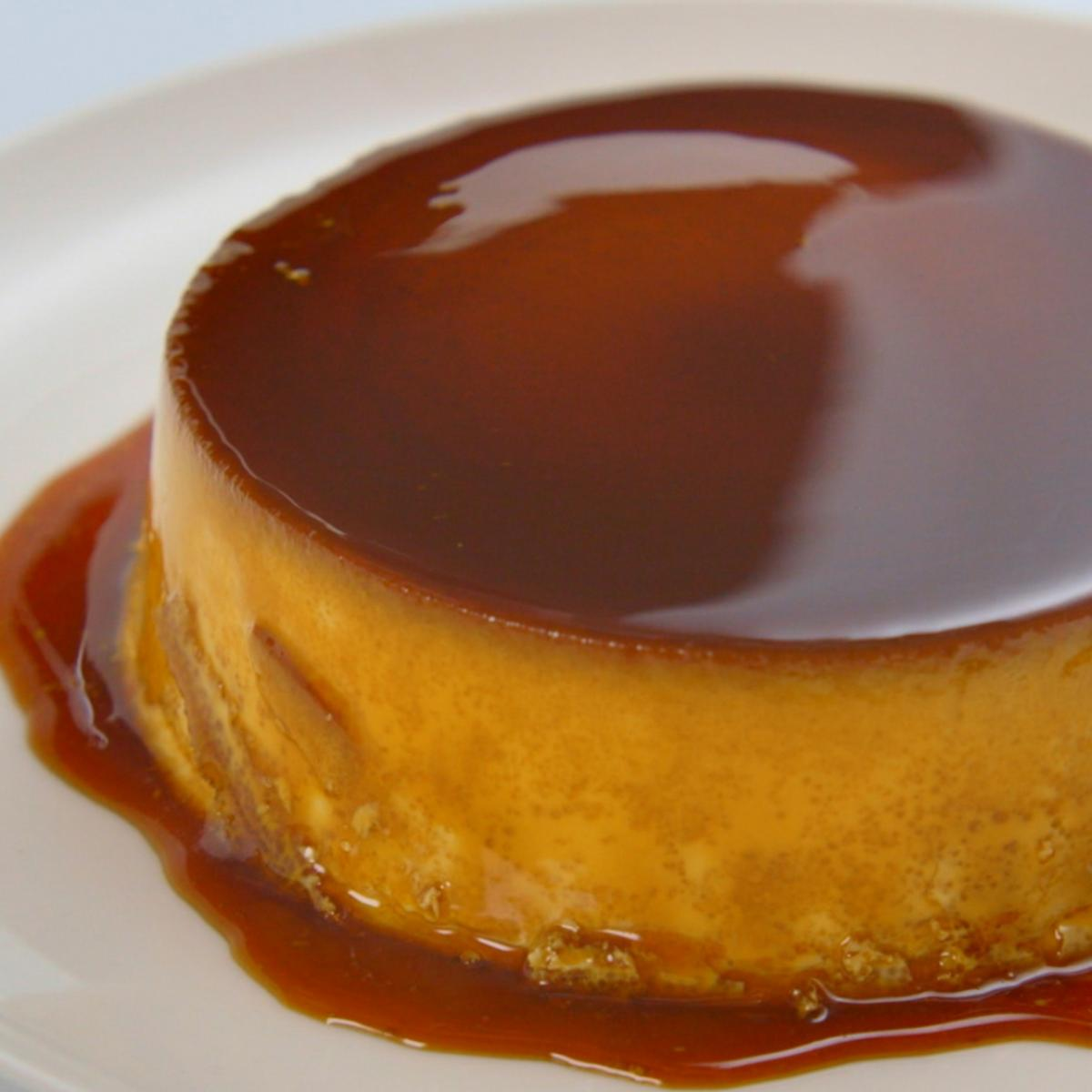 A picture of Delia's Creme Caramel recipe